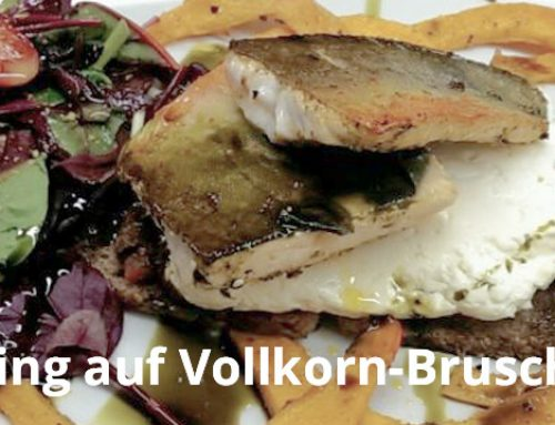 Rezept: Saibling auf Vollkorn-Bruschetta